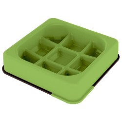 Mpets Waffle Comedero Verde...